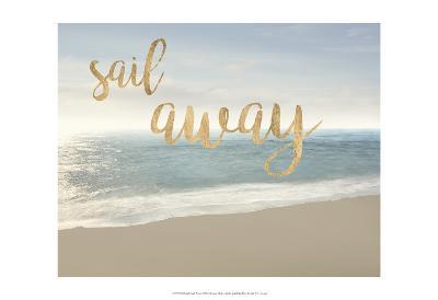 Beach Sail Away-James McLoughlin-Art Print