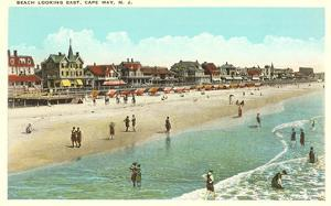 Beach Scene, Cape May, New Jersey