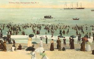 Beach Scene, Narragansett Pier, Rhode Island