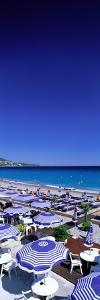Beach Scene on French Riviera (Nice) France