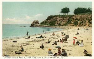 Beach Scene, Santa Barbara, California