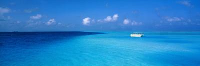 Beach Scene the Maldives--Photographic Print