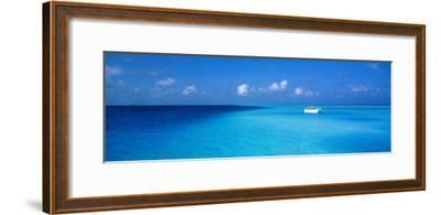Beach Scene the Maldives--Framed Photographic Print