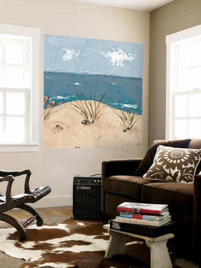 Beach Scene Triptych III-Jade Reynolds-Wall Mural
