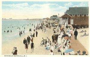 Beach Scene, Watch Hill, Rhode Island
