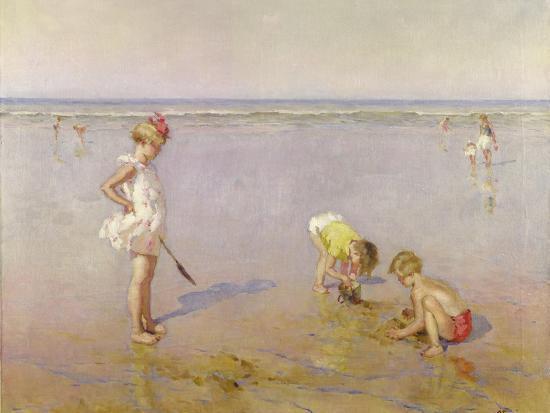 Beach Scene-Charles-Garabed Atamian-Giclee Print