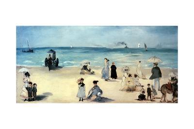Beach Scene-Edouard Manet-Giclee Print