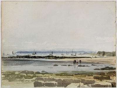 Beach Scene-Samuel Prout-Giclee Print