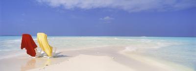 Beach Scenic, the Maldives--Photographic Print