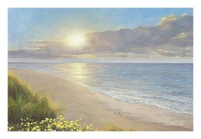 Beach Serenity-Diane Romanello-Art Print
