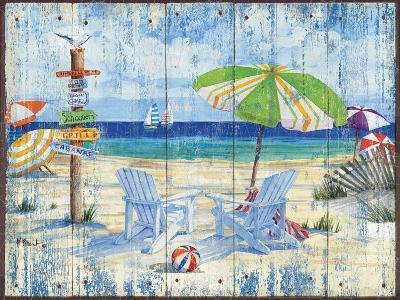 Beach Signs I-Paul Brent-Art Print