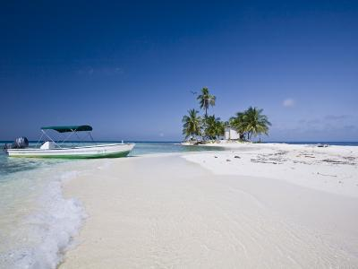 Beach, Silk Caye, Belize-Jane Sweeney-Photographic Print