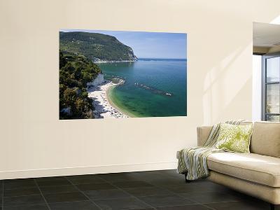 Beach, Sirolo, Marche, Italy-Peter Adams-Wall Mural