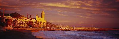 Beach, Sitges, Spain--Photographic Print