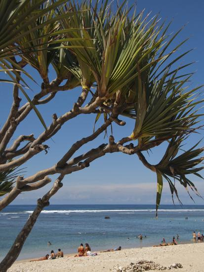 Beach, St. Pierre, Reunion Island, French Overseas Territory-Cindy Miller Hopkins-Photographic Print