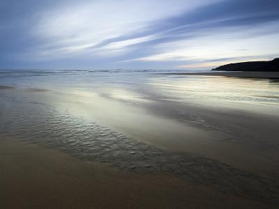 Beach Streams Leading to the Sea on Sandymouth Bay, Cornwall, England, United Kingdom, Europe-Ian Egner-Photographic Print