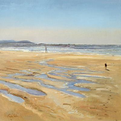 Beach Strollers-Timothy Easton-Giclee Print