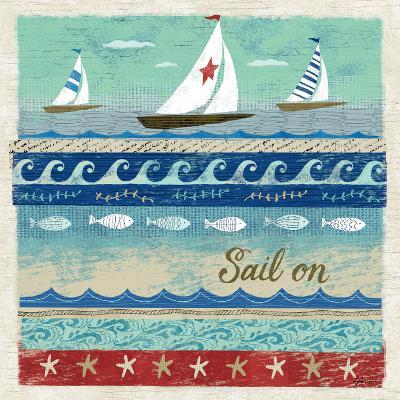 Beach Travel 3-Richard Faust-Premium Giclee Print