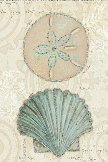 Beach Treasures II-Emily Adams-Art Print