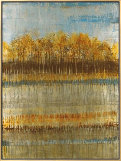 Beach Trees-Elizabeth Jardine-Framed Canvas Print