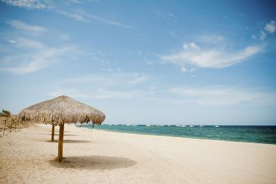 Beach Umbrella-Christopher Kimmel-Photographic Print