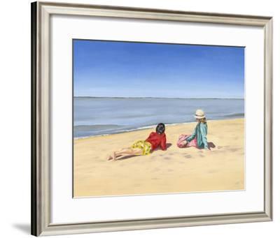 Beach Vacation IV-Dianne Miller-Framed Art Print