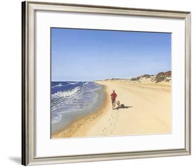 Beach Vacation V-Dianne Miller-Framed Art Print