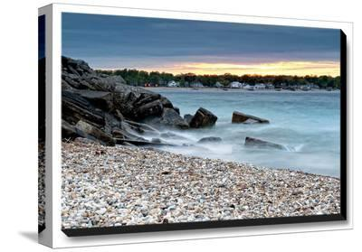 Beach Vacation-Daniel J^ Bellyk-Stretched Canvas Print