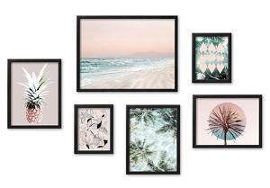 Beach Vibes Framed Set