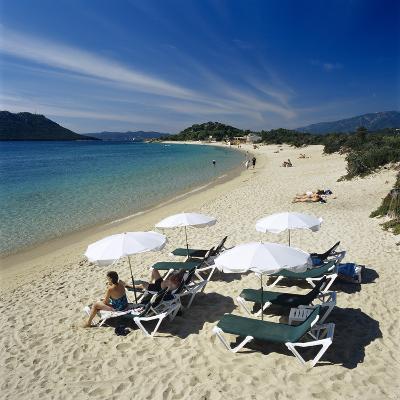 Beach View, Cala Rossa, Southeast Corsica, Corsica, France, Mediterranean, Europe-Stuart Black-Photographic Print