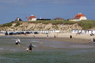 Beach View, Lokken, Jutland, Denmark, Scandinavia, Europe-Stuart Black-Photographic Print
