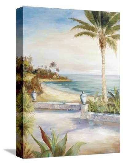 Beach Villa-Marc Lucien-Stretched Canvas Print