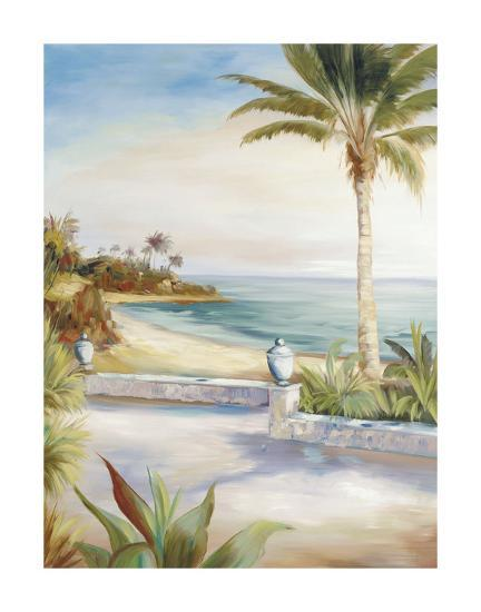 Beach Villa-Marc Lucien-Art Print