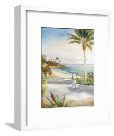 Beach Villa-Marc Lucien-Framed Art Print