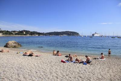 Beach, Villefranche Sur Mer, Cote D'Azur, French Riviera, Alpes Maritimes-Wendy Connett-Photographic Print