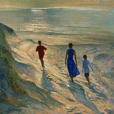 Beach Walk, 1994-Timothy Easton-Giclee Print