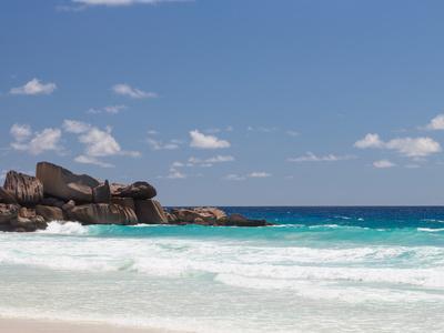 Beach with Large Stones-dizainera-Photographic Print