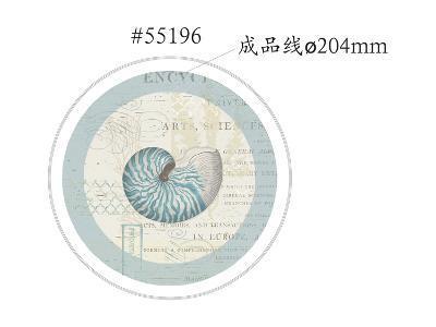Beach Wonders 55196 Coupe Salad Plate [Converted]-Katie Pertiet-Art Print