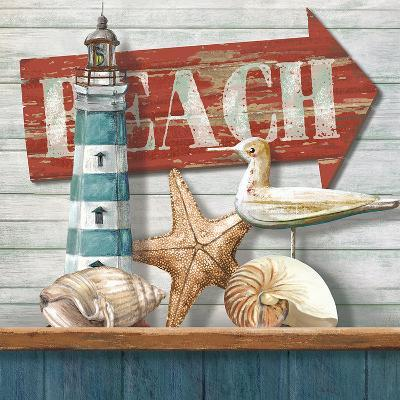 Beach-Conrad Knutsen-Art Print