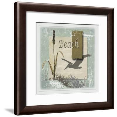 Beach-Karen Williams-Framed Giclee Print