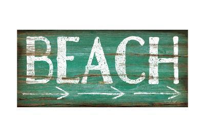 Beach-Jennifer Pugh-Art Print