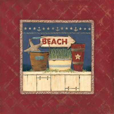 Beach-Jo Moulton-Art Print