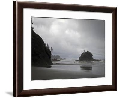 Beach-J.D. Mcfarlan-Framed Photographic Print