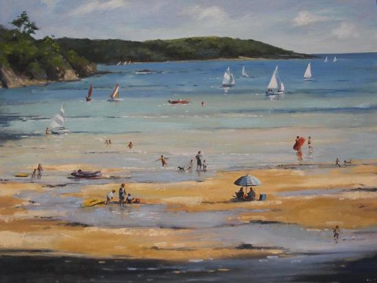 Beach-Jennifer Wright-Giclee Print