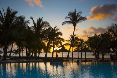 Beachcomber Dinarobin Hotel, Le Morne Brabant Peninsula, Black River, West Coast, Mauritius-Jon Arnold-Photographic Print
