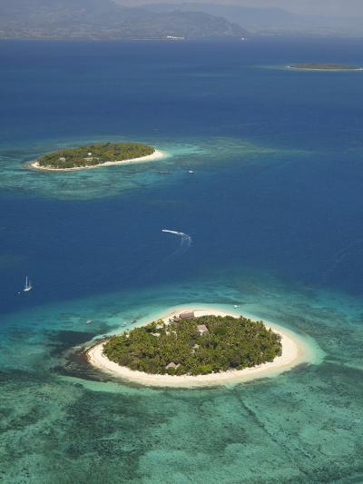 Beachcomber Island Resort and Treasure Island Resort, Mamanuca Islands, Fiji-David Wall-Photographic Print