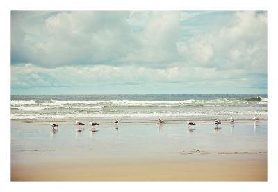 Beachcombing-Irene Suchocki-Art Print