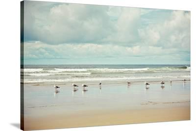 Beachcombing-Irene Suchocki-Stretched Canvas Print