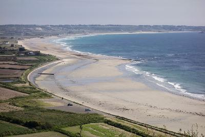 Beaches on St. Ouen's Bay, Jersey, Channel Islands, United Kingdom, Europe-Roy Rainford-Photographic Print
