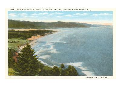 Beaches, Oregon Coast Highway--Art Print